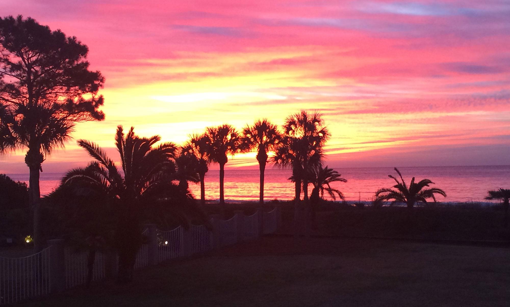 Sunset on St Simons Island