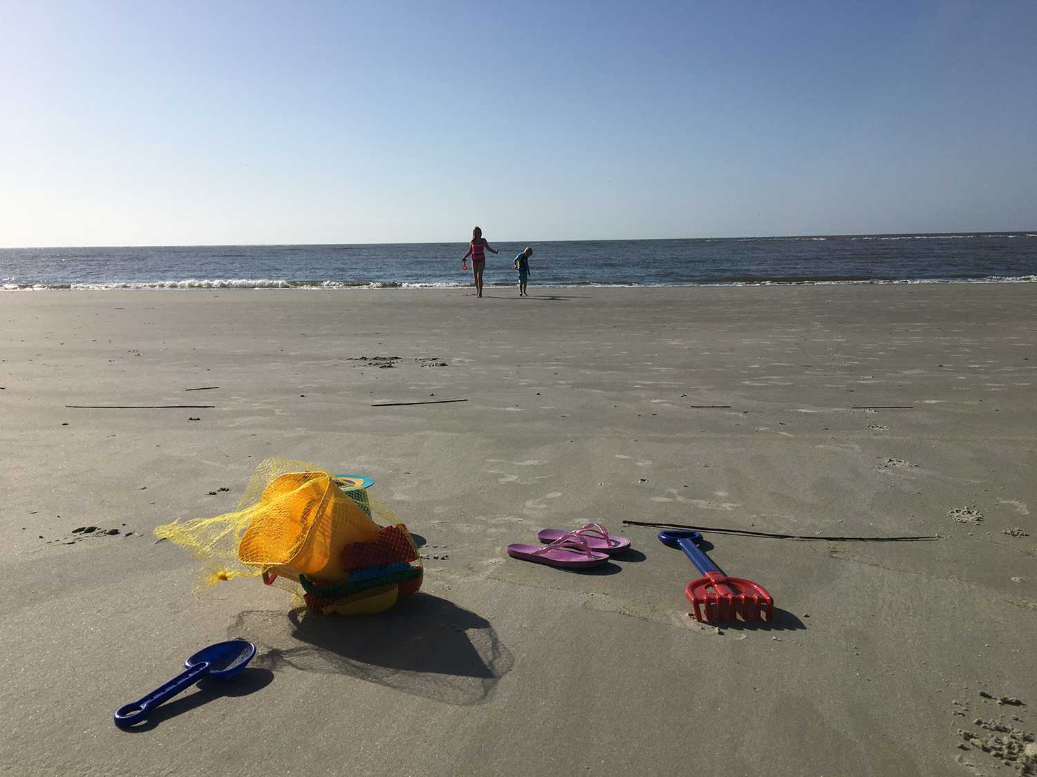 The St Simons Island beach offers families so much fun and relaxation!