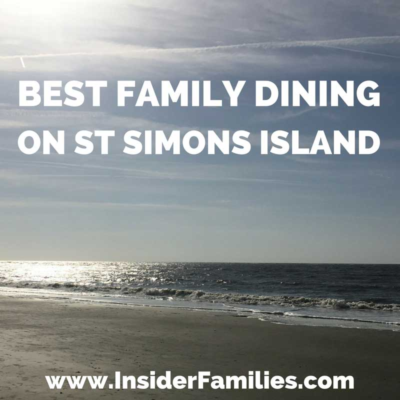 One of the many highlights of our family vacation to St Simons Island, Georgia, was enjoying authentic southern food including lots of fresh seafood. Here's what we found to be the best family dining on St Simons Island.