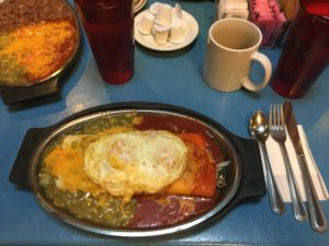 Tia Sophia's is a favorite Santa Fe local breakfast spot.