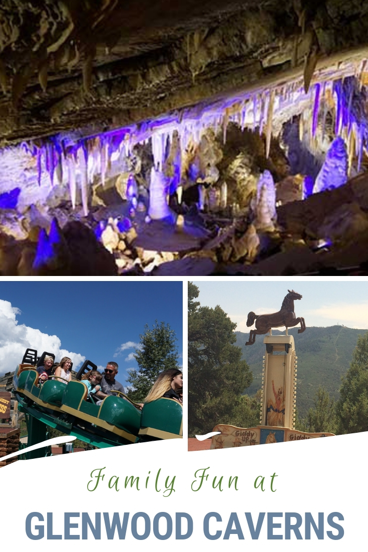 There's no shortage of fun family activities at Glenwood Caverns at Adventure Park. From exploring caves to testing your bravery on thrill rides to mining for gemstones there's sure to be something for everyone. Located on the western slope of Colorado even the gondola ride up to the park is scenic. #Colorado #Glenwood