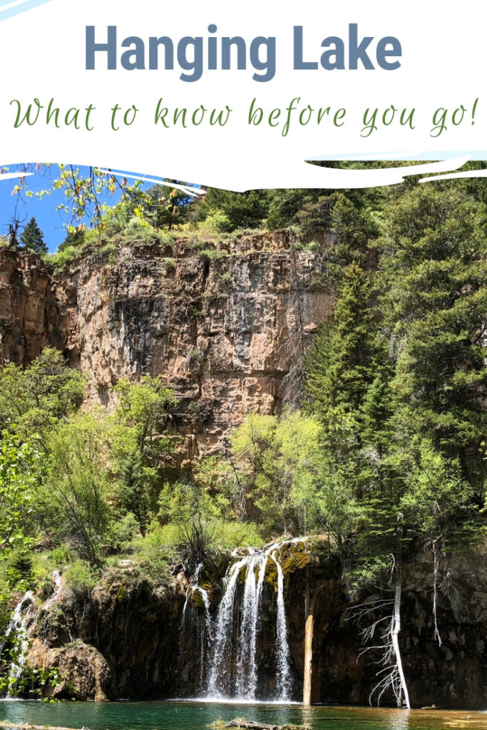 Hanging Lake outside of Glenwood Springs, Colorado is one of the most popular hikes in the state. But due to overcrowding and a need to protect the sensitive ecosystem a new reservation system is in place to visit. Find out more on how to see this natural wonder! #colorado #hanginglake
