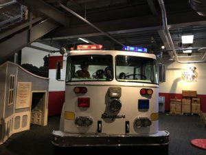 The Denver Children's Museum has undergone a fantastic remodel but the highlight for preschool boys remains the fire station.