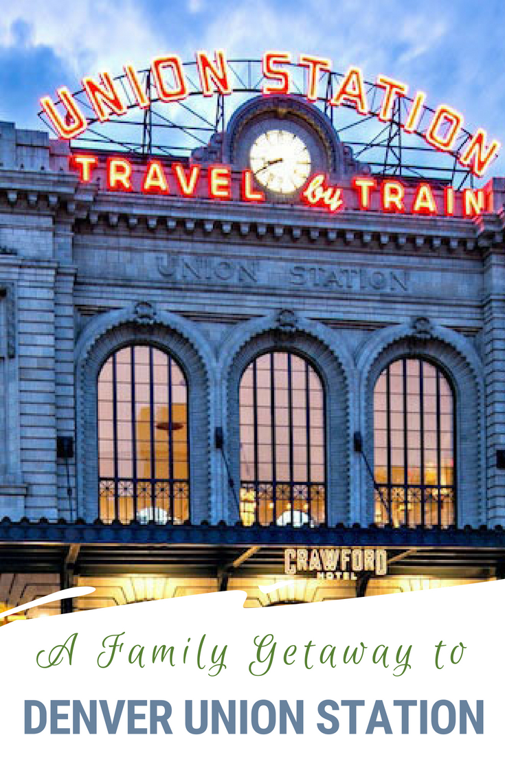 Living on the Western Slope of Colorado, Denver is a favorite weekend getaway and the Crawford Hotel at Denver Union Station was the perfect resort. Find out why! #Denver #Colorado #UnionStation #FamilyTravel