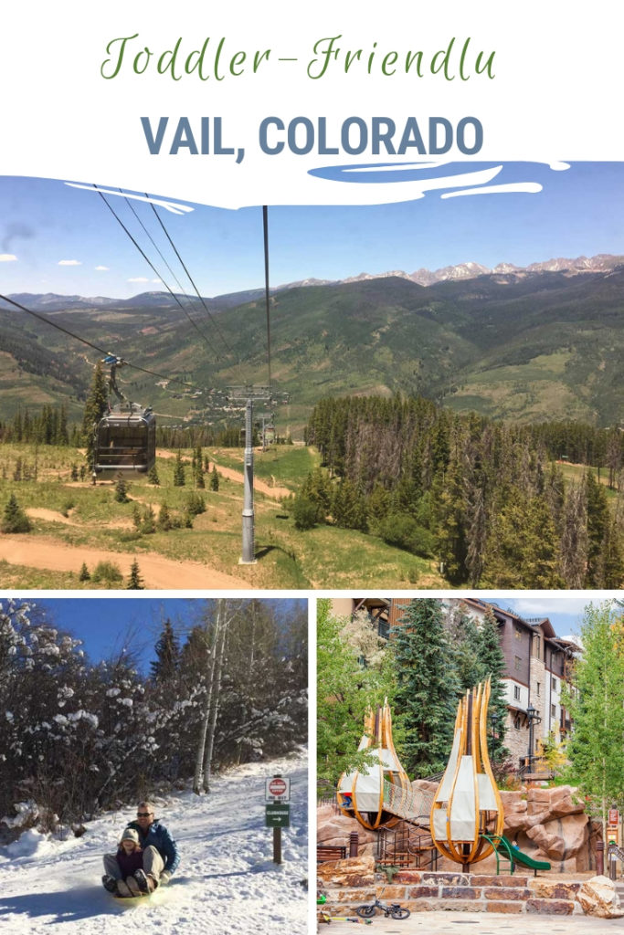 Vail is very family friendly and has lots of activities for toddlers and kids of all ages, from the epic outdoor adventures to bowling and ice skating. Activities for the little ones are a bit less known. Here are our top seven (mostly free) toddler-friendly activities in Vail, Colorado. From riding the free bus, to taking the gondola, to sledding and the awesome parks, Vail is most certainly a family-friendly town. #VailColorado #VisitColorado #ColoradoTravel