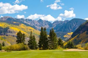 Fall in Vail is spectacular with the aspen leaves shining gold. Photo VLMD, Jack Affleck.