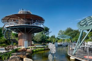 The Rory Meyers Children's Adventure Garden is the highlight of the Dallas Arboretum for kids and fall is the perfect time to visit.