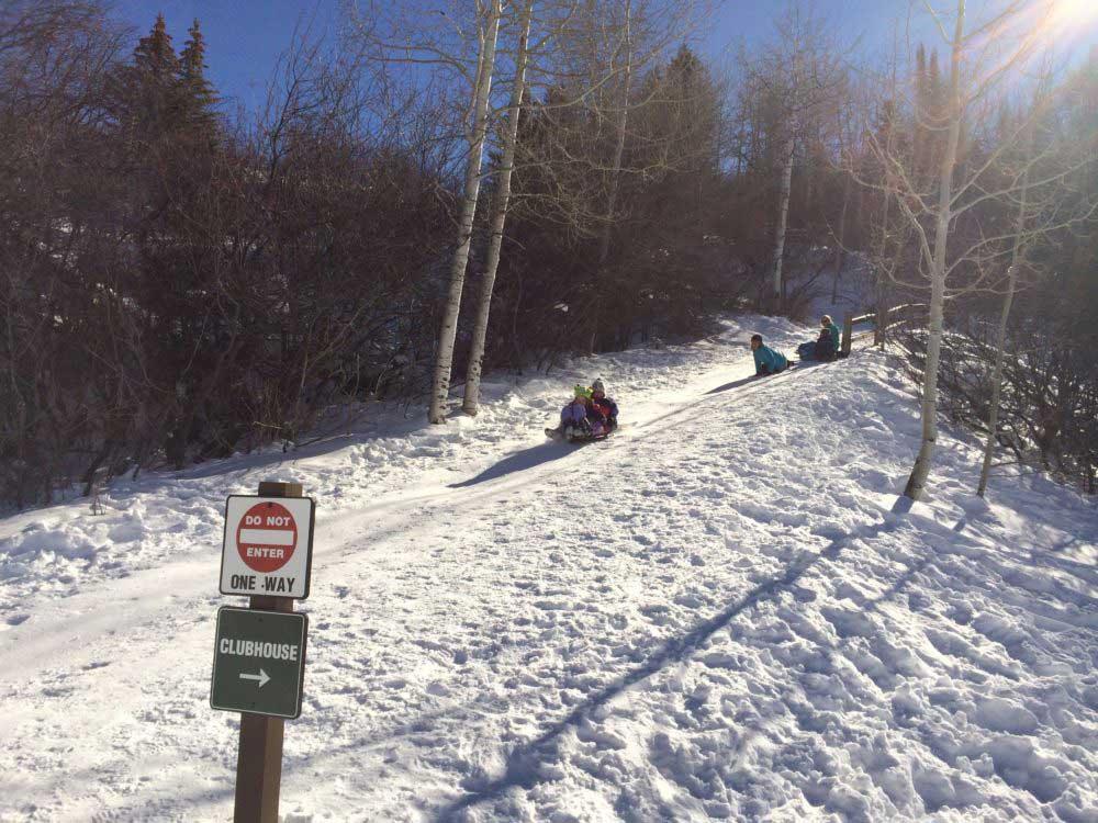 Aspen Sledding Hills Fun for the Entire Family