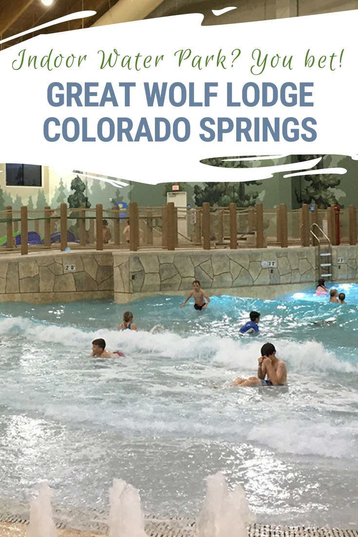 Have you ever been to an indoor water park? We hadn't until Great Wolf Lodge Colorado Springs opened. It was fun for the entire family! #GreatWolfLodge #ColoradoSprings #VisitColorado #ColoradoTravel #FamilyVacation