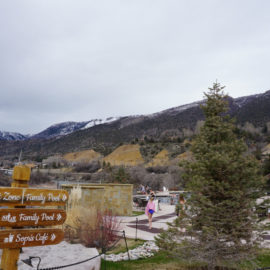 Snowy Day in Vail: Visit Iron Mountain Hot Springs