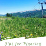 Whether planning a summer vacation or family ski trip read on for tips from a local family for planning the ultimate Vail family vacation. #VisitColorado #Skiing #ColoradoTravel #Vail #FamilyVacation