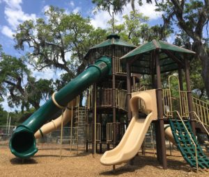 True to the mission of our blog, we found what we believe is the best park on St Simons Island, Mallory Park.