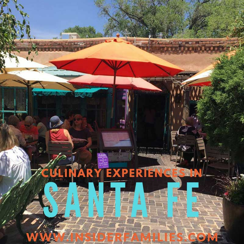 Santa Fe is truly a sensory experience from the endless art and history to the dining experiences. I don't know that you could go wrong in choosing a restaurant but here are a few Santa Fe culinary experiences that we enjoyed.