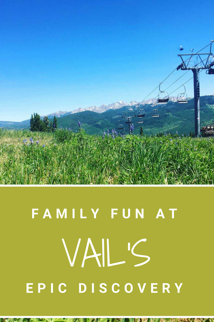 Vail's Epic Discovery is fun for the whole family. Find out what the best activities are from the Forest Flyer Alpine Coaster to ropes courses! #Vail #VisitColorado #Colorado #FamilyTravel #EpicDiscovery #MoutainLife