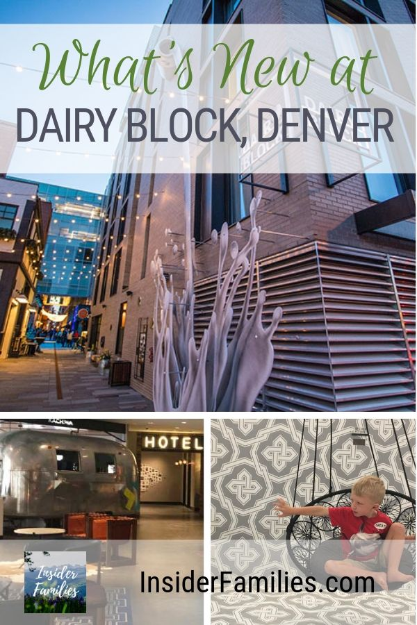 Dairy Block is a new mixed-used redevelopment of the historic LoDo block that once housed Denver's Windsor Dairy. The soul of Dairy Block is the pedestrian Alley, which runs from 18th and 19th between Blake and Wazee Streets. A pedestrian alley with fun stores and restaurants - check out all the family fun here! #DairyBlock #Denver #Colorado