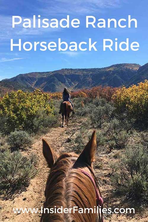 Gateway Canyons Resort offers horseback riding at its beautiful Palisade Ranch.