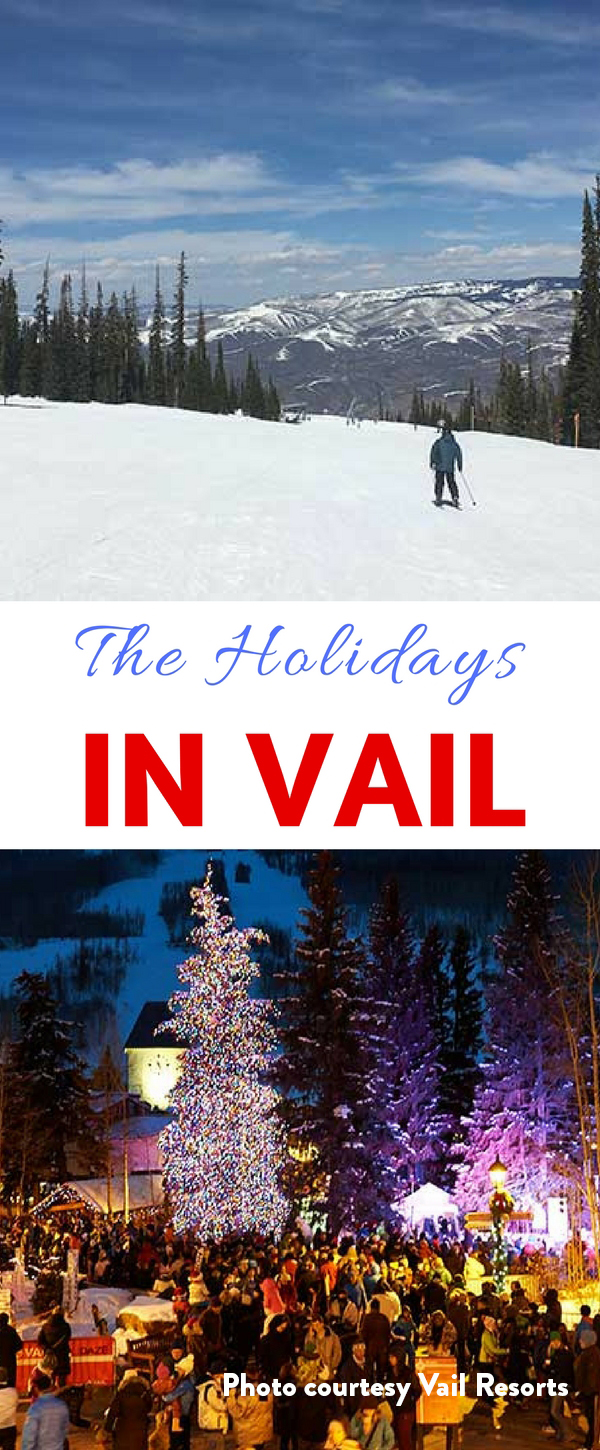 The holidays in Vail are a special time with twinkling lights on snow covered pine trees, epic skiing and lots of fun holiday events.