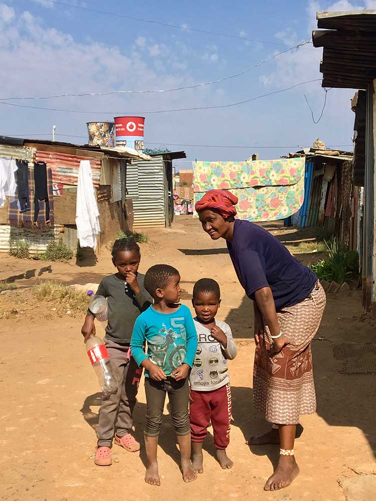 Adventures in Gratitude in Southern Africa -- Family in Johannesburg