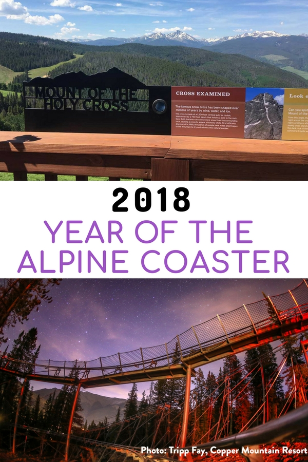 The beauty of the Colorado alpine roller coaster is that it exists in a spectacular natural mountain environment. No concrete jungle surrounds these thrill rides. #VisitColorado #alpinecoaster #thrillride #familytravel