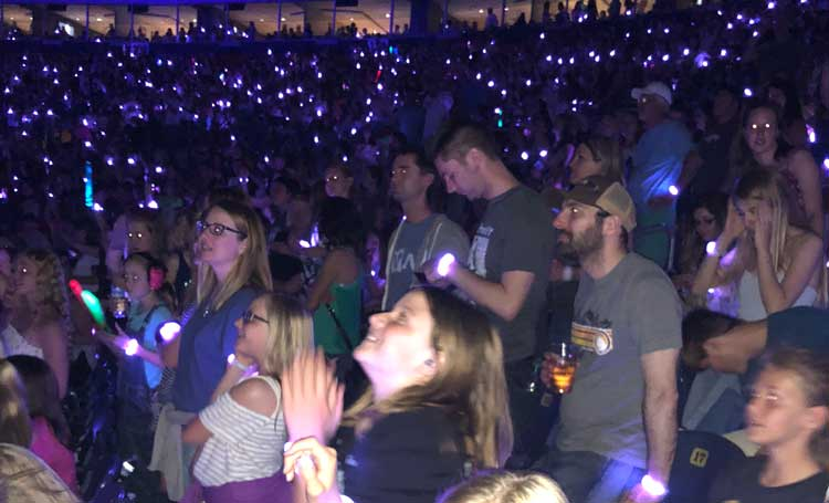 Taking your daughter to a Taylor Swift concert is giving her an experience she will never forget.