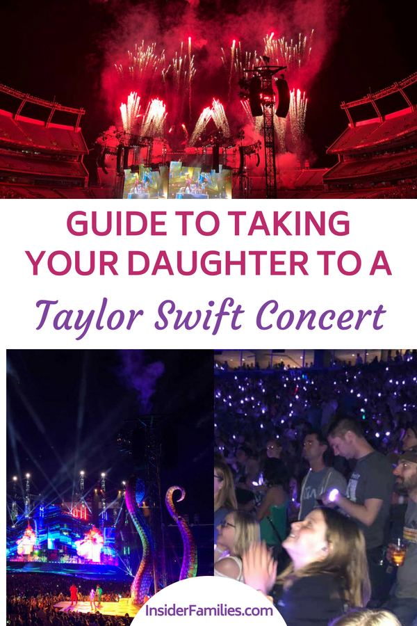 Thinking of taking your daughter to a Taylor Swift concert? Here's what you need to know before you go! How to get your tickets pre-sale and more. #TaylorSwift #ReputationTour #concerts