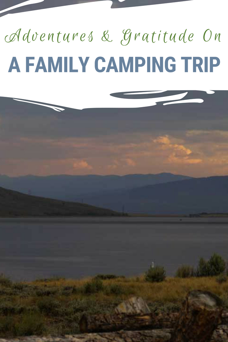 Our first family camping trip was filled with adventure, gratitude & kindness. We'll camp again, though maybe in a camper next time. Thinking about camping? Learn from our mistakes, and read a good story! #Camping #FamilyVacation #ColoradoTravel