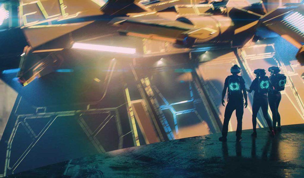 STar Wars Virtual reality at Disney World