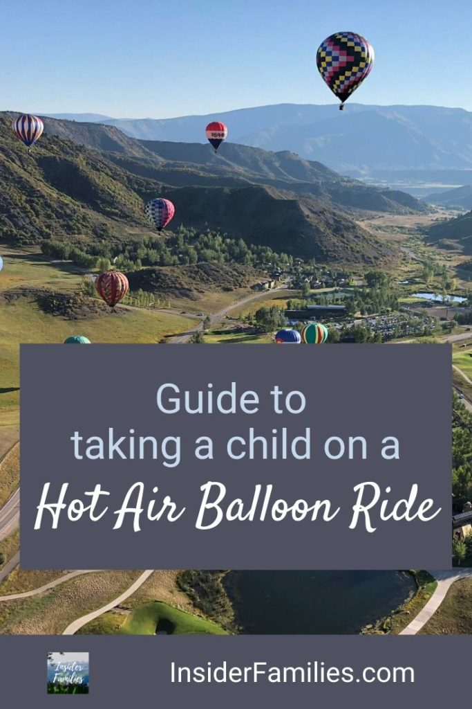 Hot air balloon festivals are spectacular. A hot air balloon ride is a bucket list item for many. But should you take your child on a hot air balloon ride? What age should a child be to take a hot air balloon ride? What to know before you go! #hotairballoon
