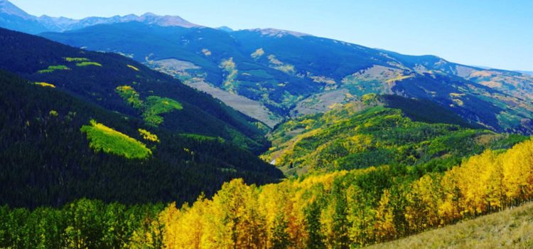 Most spectacular fall drives and fall colors in Colorado