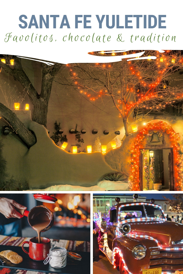 "Santa Fe, which means ""Holy Faith,"" welcomes visitors of all faiths to celebrate the holiday season with tradition and by igniting the senses. Find out shat is special about the Santa Fe holidays! #SantaFe #holidays"