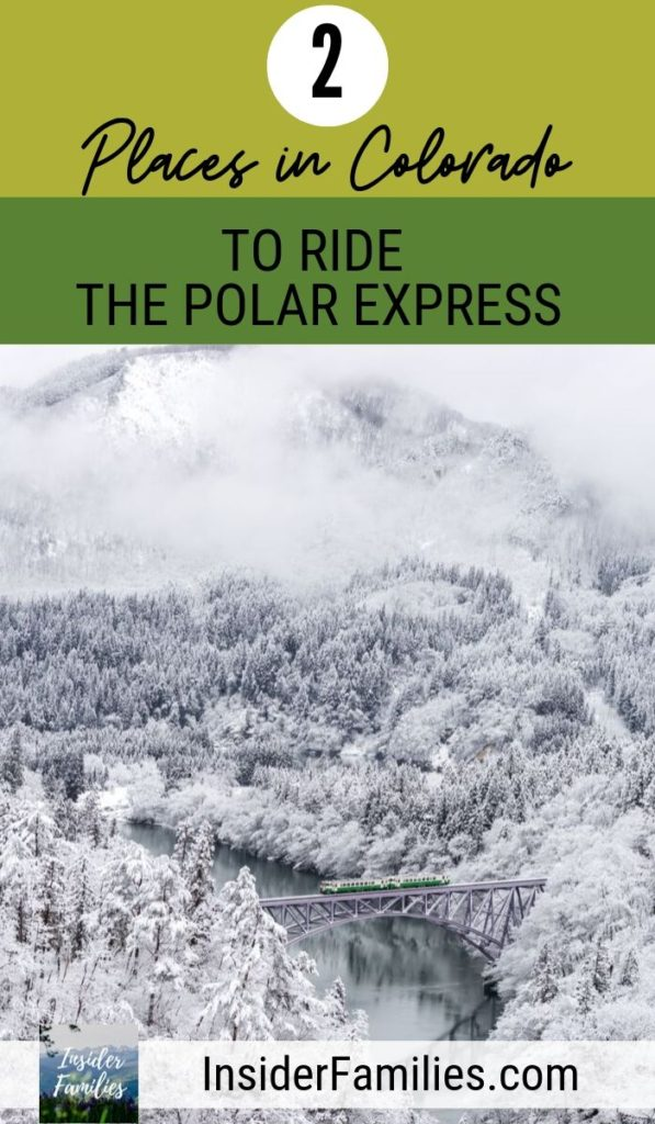 Riding the Polar Express in Colorado is a magical experience for the entire family. Here's where to find the Polar Express, Santa Trains and what to know about the experiences. #Colorado #PolarExpress