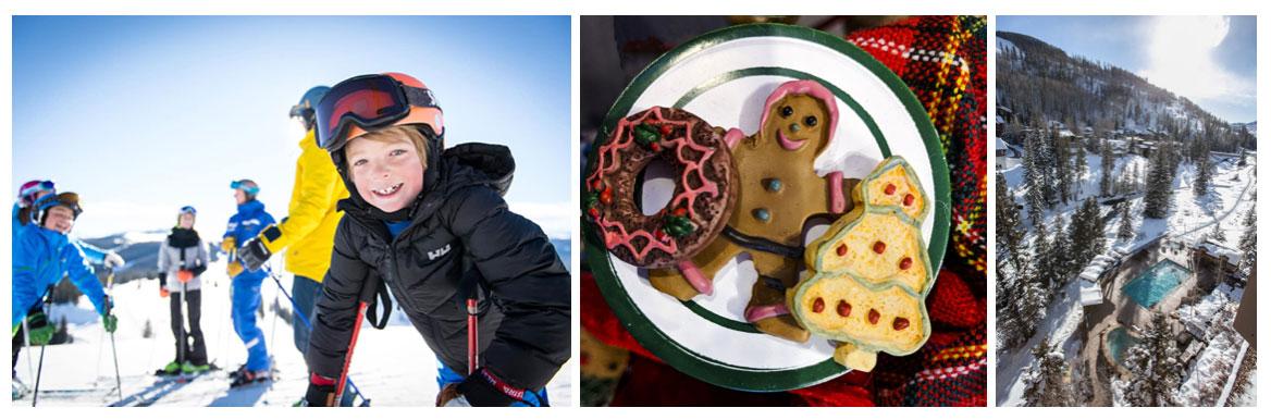 Vail makes for a fun Colorado holiday getaways destination.