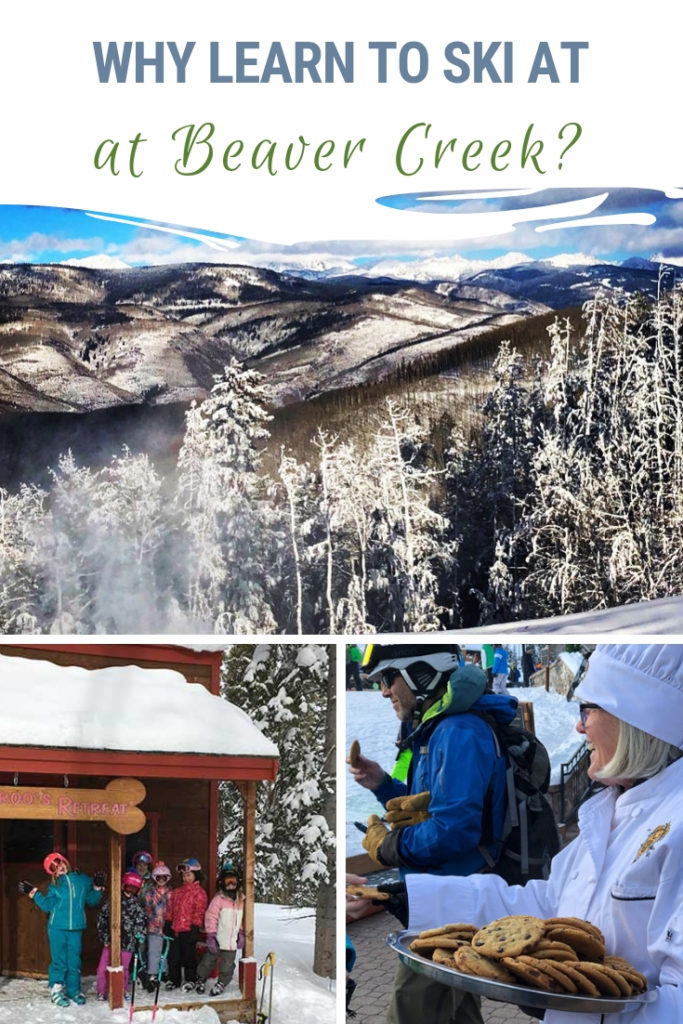 We live within 30 miles of two of the best ski resorts in the country -- Vail and Beaver Creek. Vail is my favorite to ski but Beaver Creek is the local's choice for ski lessons. Here's why your kids will want to learn to ski at Beaver Creek! #Vail #BeaverCreek #Skiing