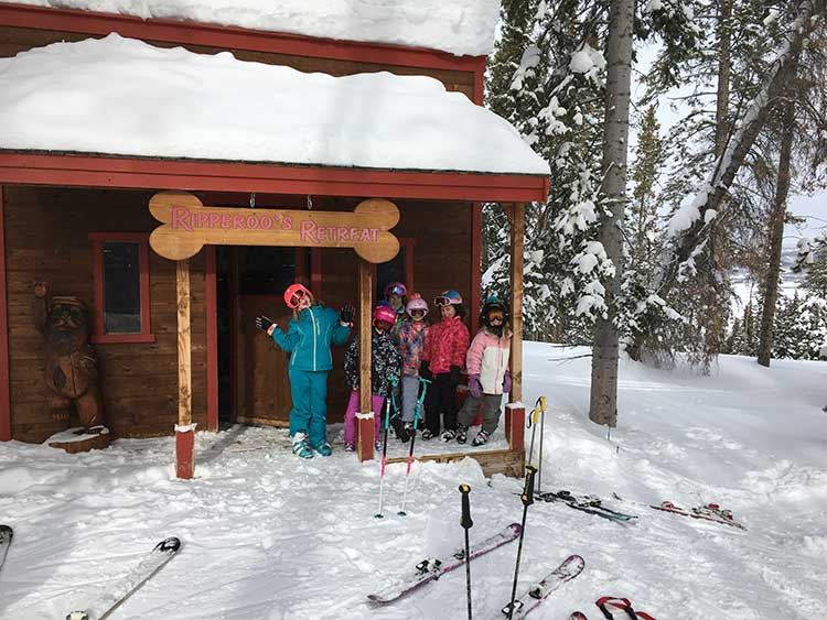 Ripperoo's Cabin in Beaver Creek is a fun stop for the kids.