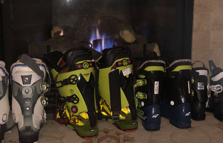 Make sure to have your ski gear ready to go.