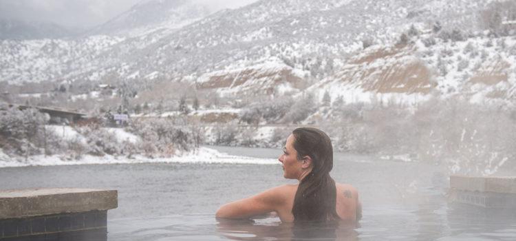 Take a Dip: Warm Winter Pools in Snowy Colorado