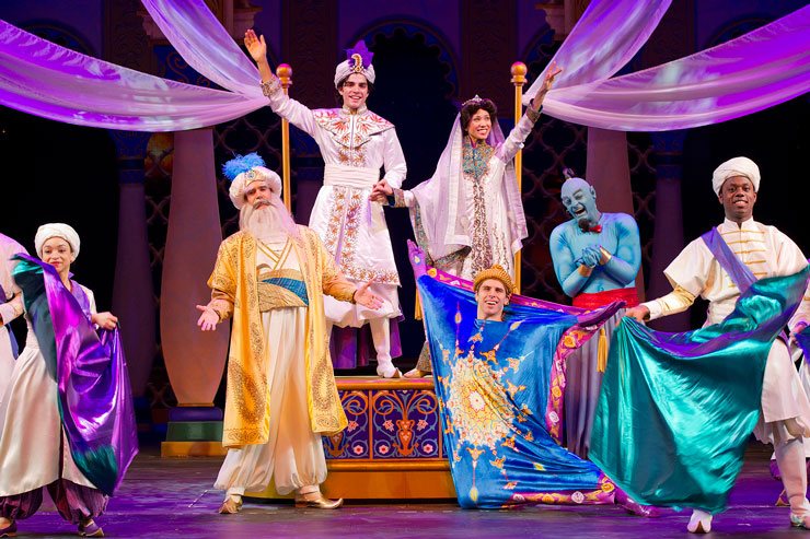 Aladdin aboard the Disney Fantasy was a hit with the entire family.