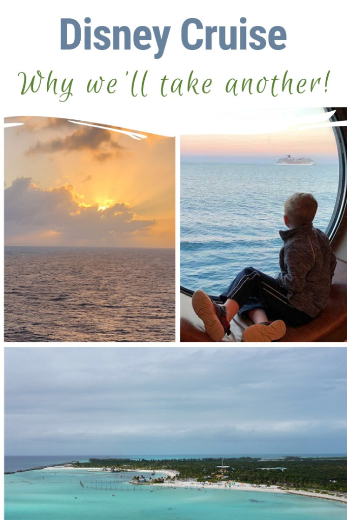 We saved and planned for our bucket list Disney Cruise. But it didn't fall off our list as bucket list items should. The entire family wants to take another Disney Cruise and really explore Castaway Cay this time. Here's why that Disney Cruise is still on our family travel bucket list! #disneycruise #dcl