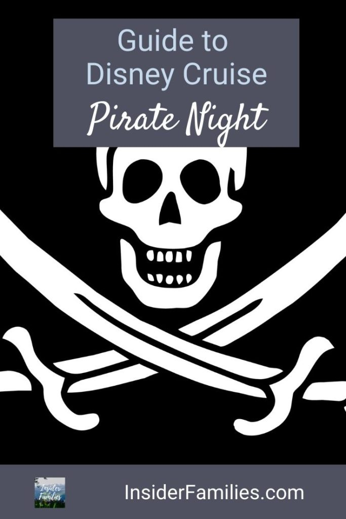 Disney Cruise Pirate Night ended up being a highlight of our Disney Cruise. Be prepared and get in the spirit with our Pirate Night tips! Costume ideas and more. #PirateNight #DisneyCruise