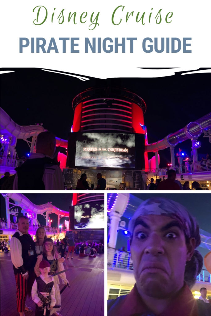 Disney Cruise Pirate Night ended up being a highlight of our Disney Cruise. Be prepared and get in the spirit with our Pirate Night tips! #DisneyCruise #PirateNight