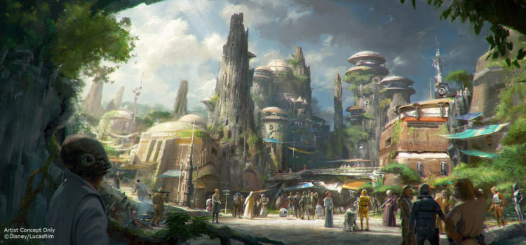 Disney Announces Opening Dates of Star Wars: Galaxy's Edge