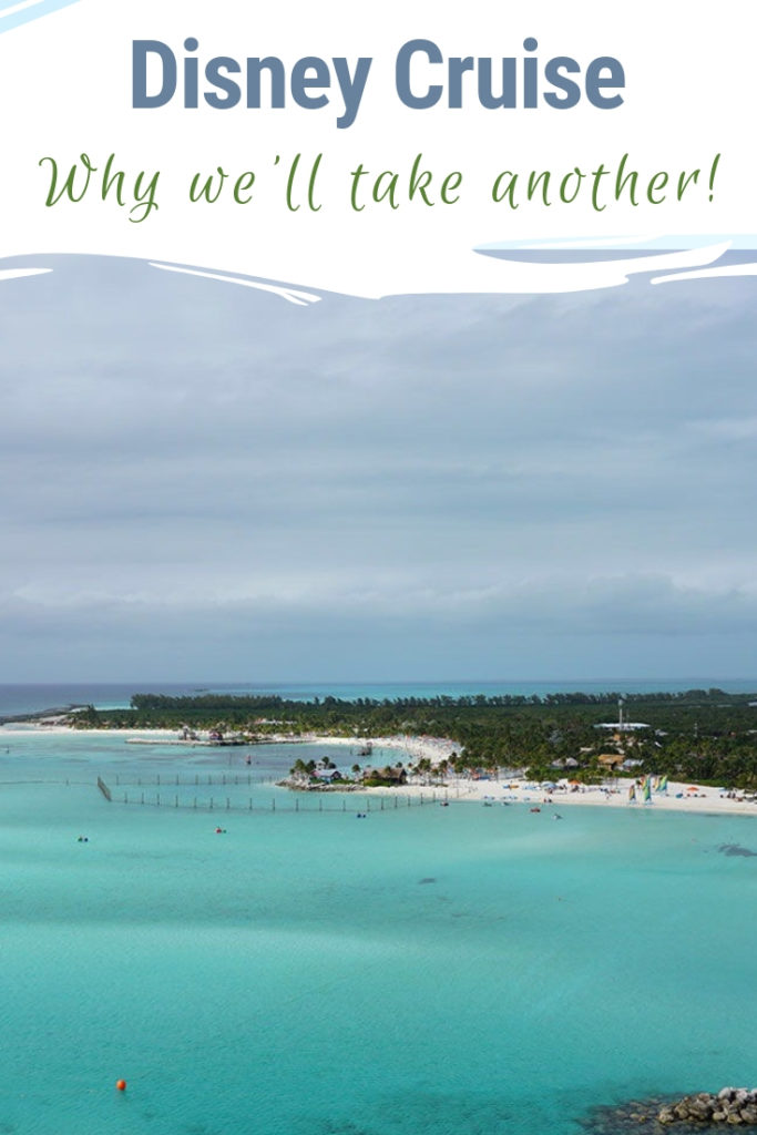 We saved and planned for our bucket list Disney Cruise. Though you are meant to cross items off your bucket list, the Disney Cruise didn't fall off our list. The entire family is ready to take another Disney Cruise. Here's why that Disney Cruise is still on our family travel bucket list! Hint: Castaway Cay is one of the reasons. #disneycruise #dcl