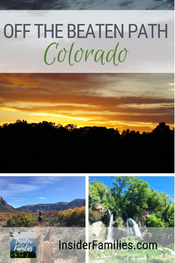 Colorado is known for spectacular landscapes. Find out the best off the beaten path destinations from a local Colorado family. Which state parks and national monuments should you not miss and why! #Colorado #FamilyVacation