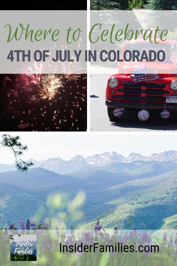 Mountains, music, parades, watermelon, fireworks! What more could you want in a Colorado 4th of July? From Vail and Beaver Creek to Gateway Canyons and Snowmass, here are our favorite places in Colorado to celebrate Independence Day. #Colorado #4thofJuly