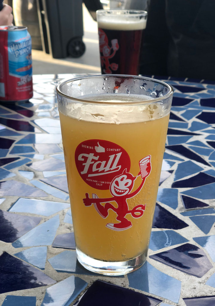Ice cold local craft beer at Fathom Bistro Bait & Tackle.