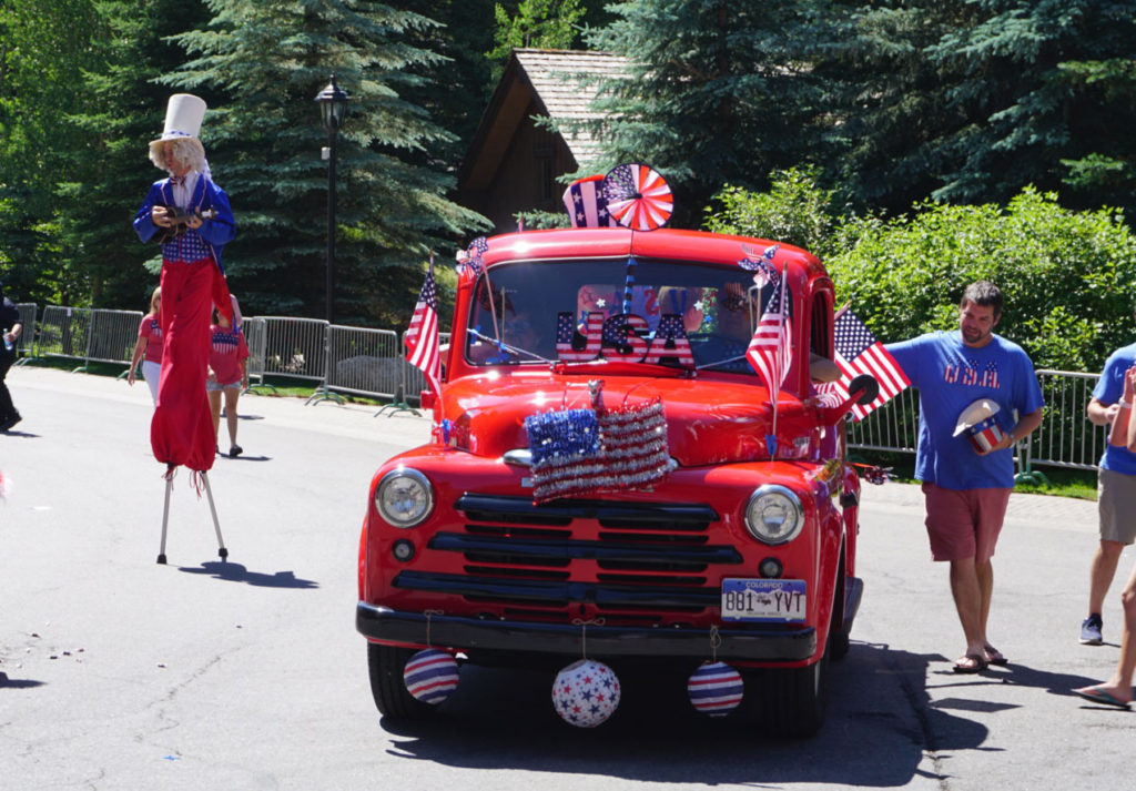 A fun and festive parade is the core of Vail's America Days and a fun way to enjoy 4th of July Colorado