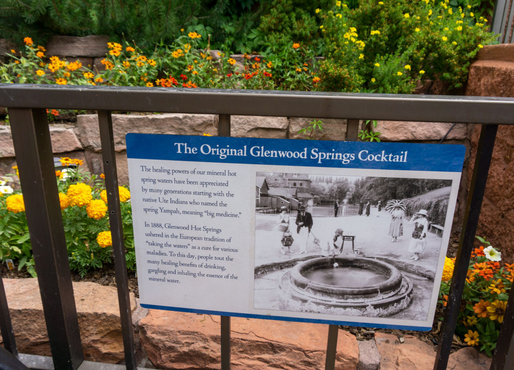 The healing mineral waters of Glenwood Hot Springs Pool