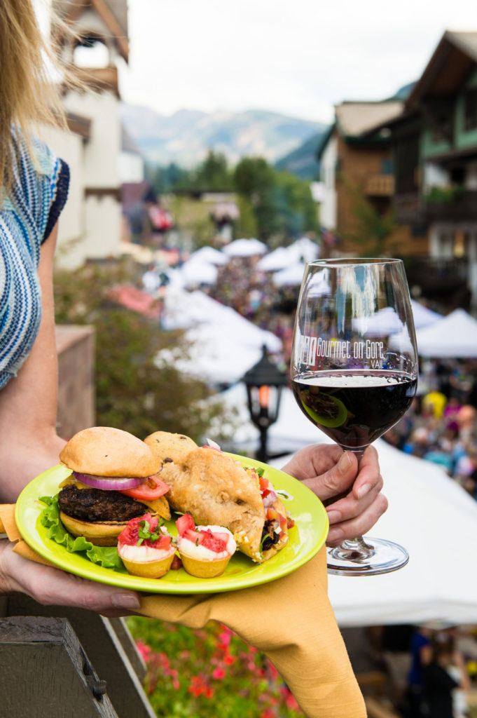 Dining at Gourmet on Gore in Vail Village in CO