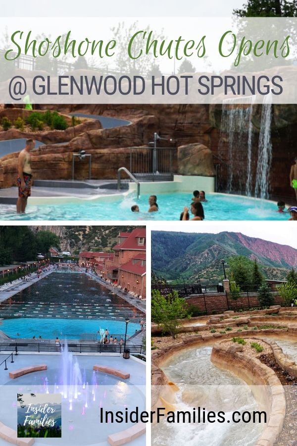 Shoshone Chutes at Glenwood Hot Springs is now open for splish slpashin' rip rapidin'. This and the Sopris Splash Zone offer fun for all ages. Located in a spectacular area of the Western Slope of Colorado, your family will want to be sure to make a stop in Glenwood Springs. #Colorado #GlenwoodSprings