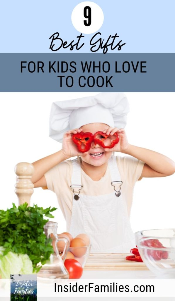 Have an aspiring young chef in your family? Here are a few gifts for kids who love to cook and enjoy being in the kitchen creating their masterpieces. These also make for great Christmas gifts for teens! #kidswhocook #kidswhobake
